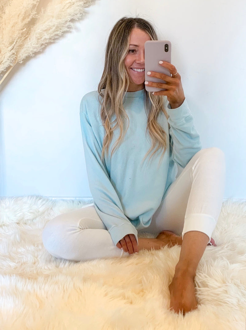 Easy Going Cotton Pullover (3 Colors)