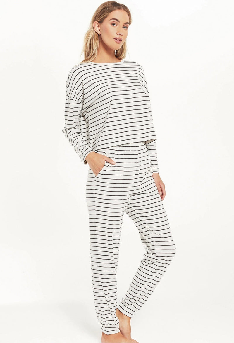 Z Supply Feel Good Striped Lounge Set