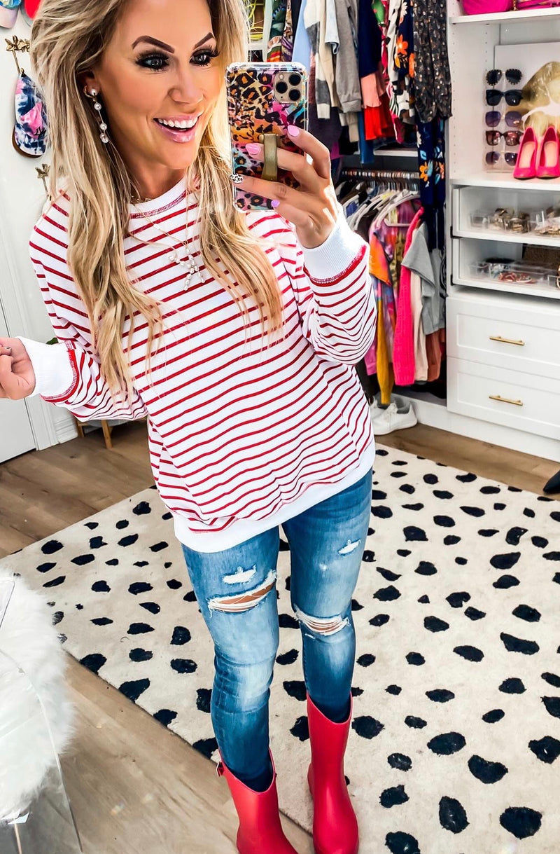 Striped Pullover (2 Colors)