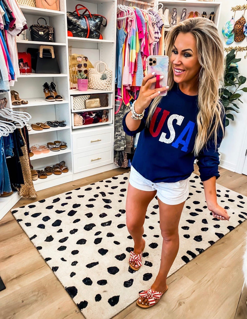 Navy USA Sweatshirt