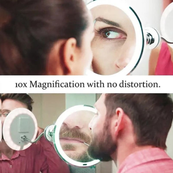 10x mirror magnifying