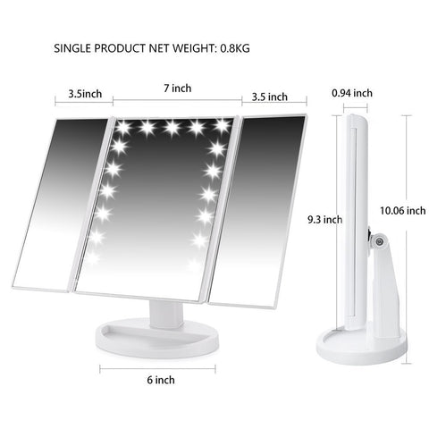 Vanity Make Up Lighted Mirror