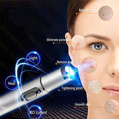 Blue Light Skin Therapy Laser Pen