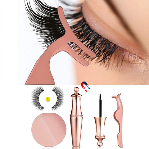 Magnetic Eyliner False Eyelashes Kit