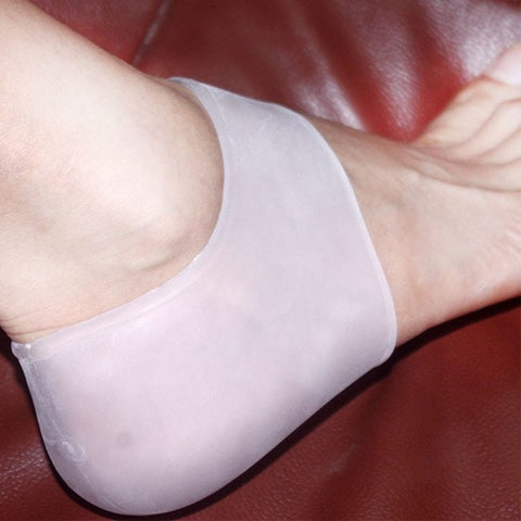 Heel Care Silicone Gel Sleeves Cracked heels