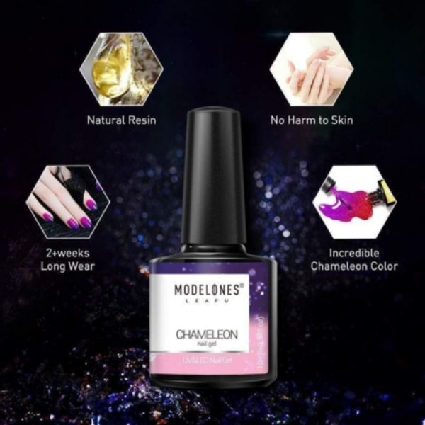 color changing gel nail
