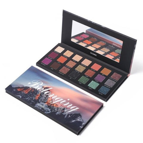 Beauty Cosmetics 18 Colors Pigmented Palette