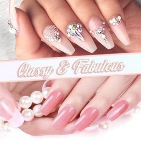 polygel nails
