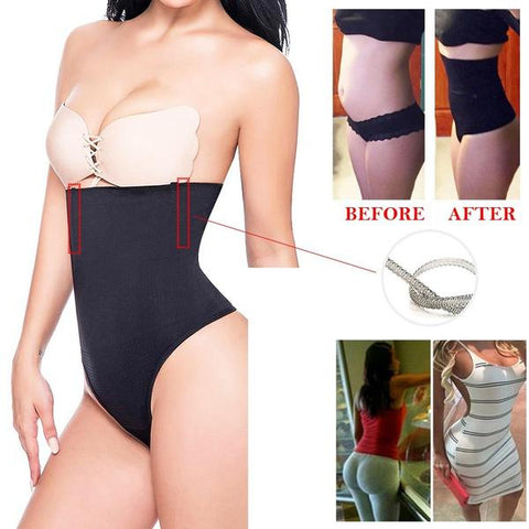 Body Shaper High Waist Thong