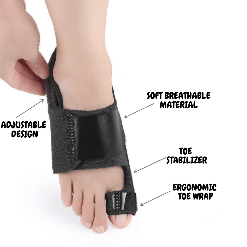 BunionFree™ Big Toe Bunion Corrector Brace