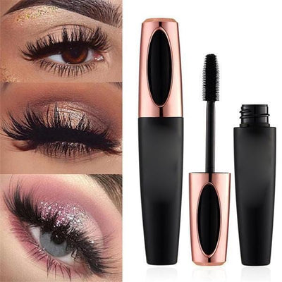 Eyelash Mascara 4D Silk Fiber Black Mascara
