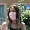 Pink- Adult ReUsable Cotton Face Mask