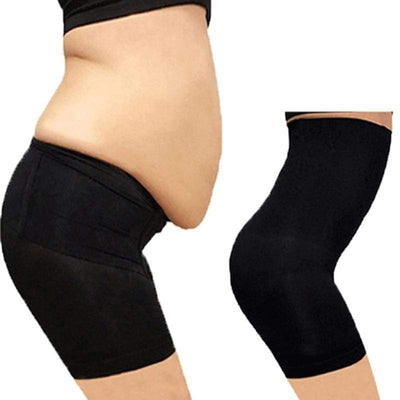 Body Shaper High Waist Pants Black (2 Pack) / 4XL Body Shaper High Waist Pants