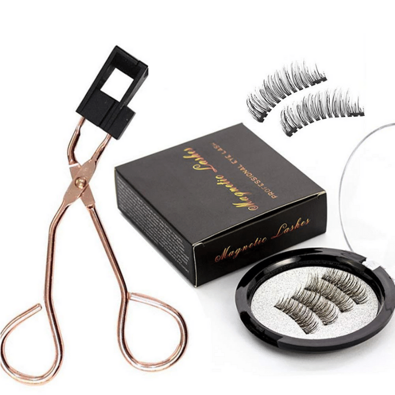 Magnetic Quantum Eyelash Curler With Eyelashes