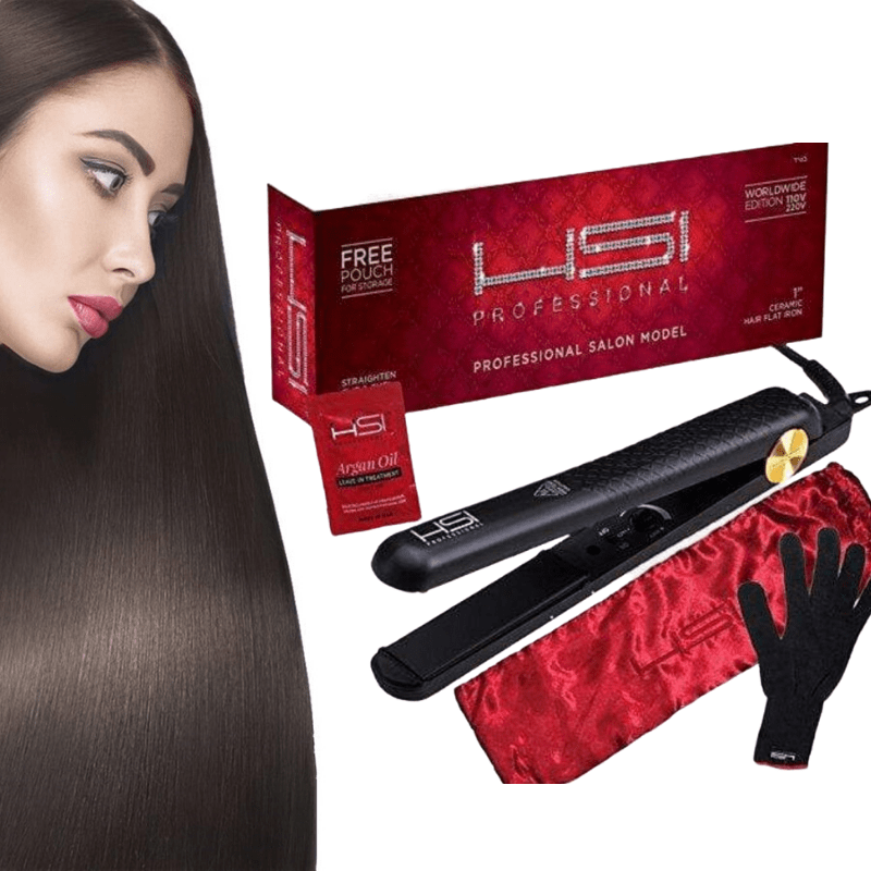 PerfectHair™ Ceramic Tourmaline Ionic Flat Iron
