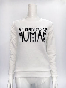 All monster are human hoodie