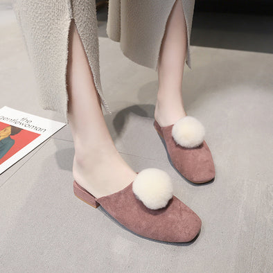 2019 New Solid Square Toe Shoes