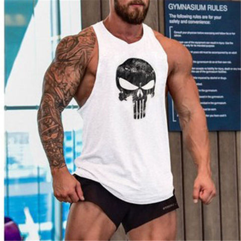 """Punisher"" Like Tank Top* -  Gym Shirts Online"