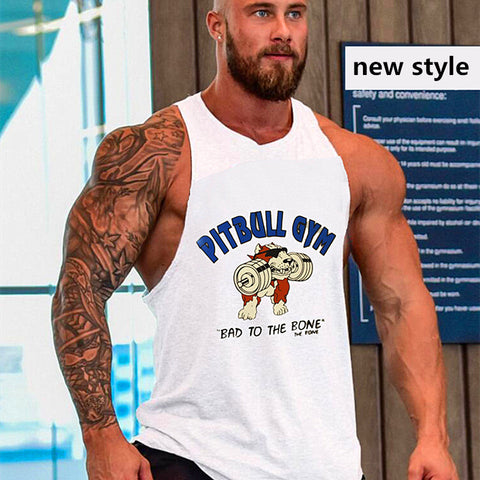 """Pitbull Gym""Tank Top* -  Gym Shirts Online"