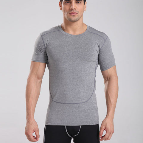 Short Sleeve Compression T-Shirt -  Gym Shirts Online