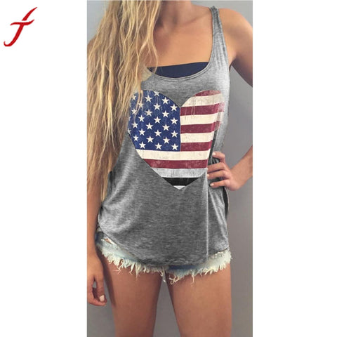 American Flag Tank Top* -  Gym Shirts Online