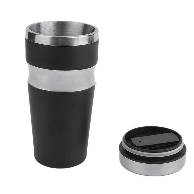 2018 Dual Layer Stainless Steel Thermo Cup