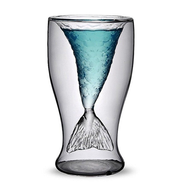 Mermaid Creative Glasses Beer Glass