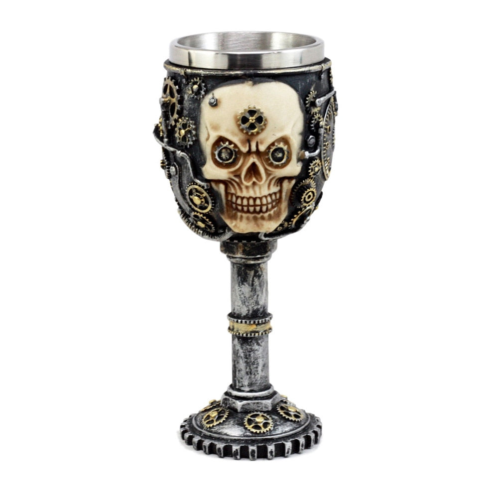 Stainless Steel Ghost Head Goblet