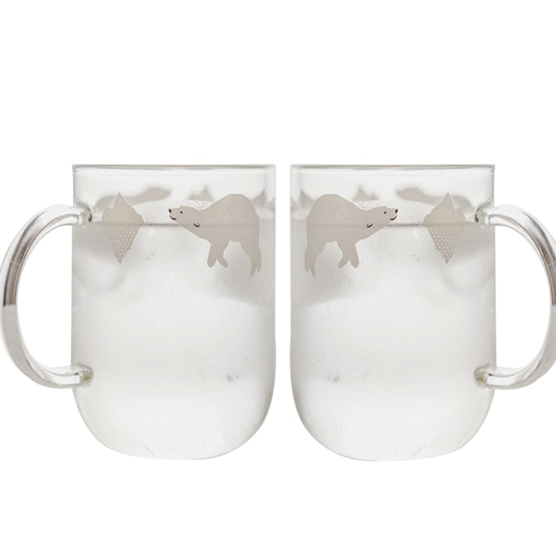 Hoomall 2PCS Penguin Water Cups