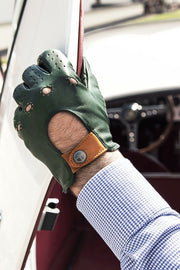 The Outlierman Gloves - The Authentic Race - Loden / Tan