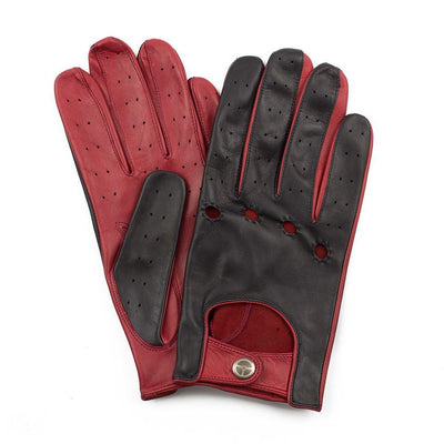 The Outlierman Gloves - The Heritage - Black / Crimson