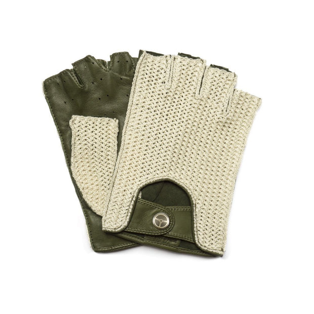The Outlierman Gloves - The Heritage Stringback Fingerless - Olive