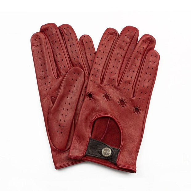The Outlierman Gloves - The Authentic Race - Red / Black
