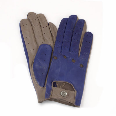 The Outlierman Gloves - Ladies The Heritage - Cobalt Blue / Taupe