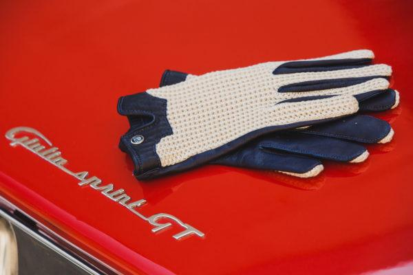 Autodromo Stringback Driving Gloves - Navy
