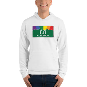 Colorado Pride Rainbow Sunset Hoodie