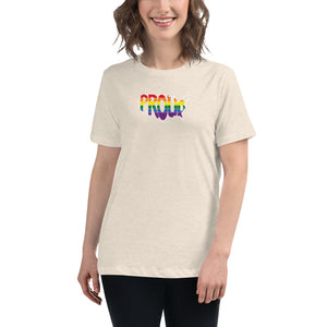 America Proud - Retro Rainbow - Women's Relaxed T-Shirt