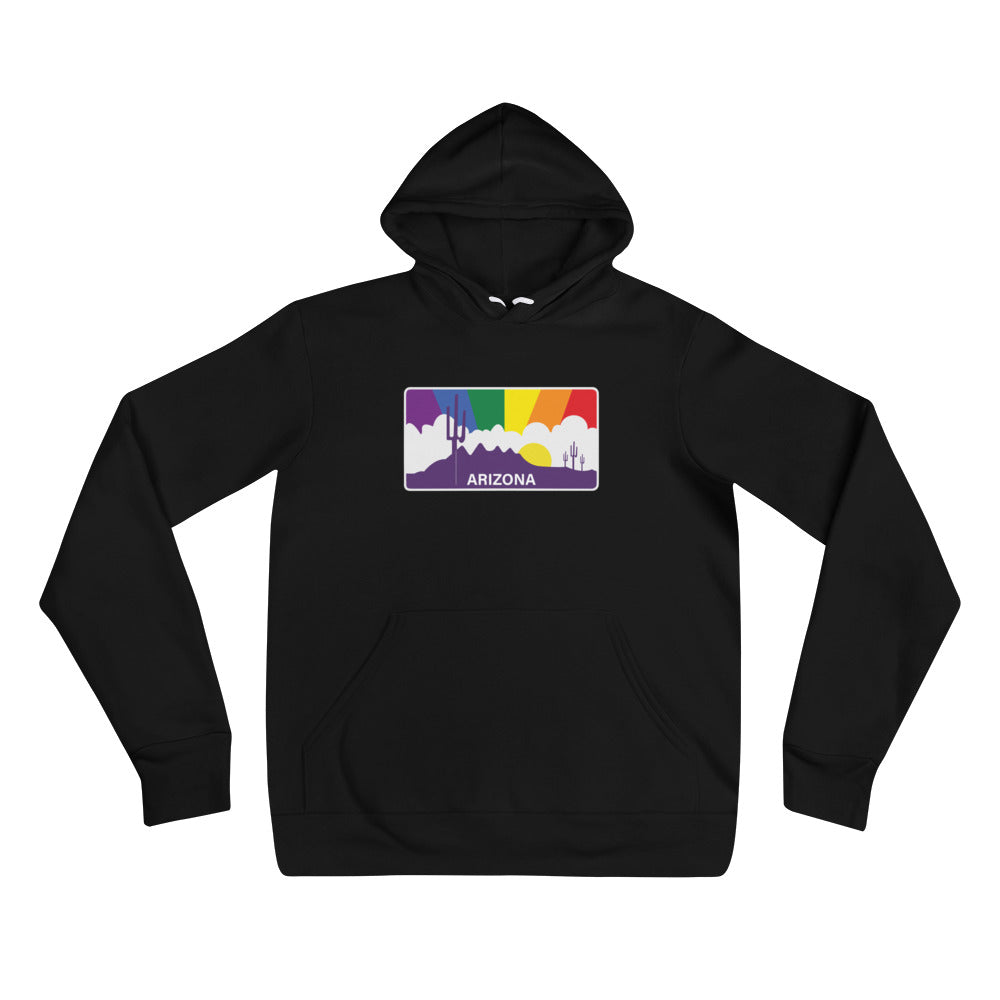 Arizona Pride Rainbow Sunset - Unisex hoodie