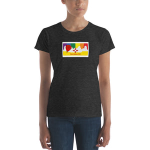 New Mexico Pride Rainbow Sunset Women's short sleeve t-shirt