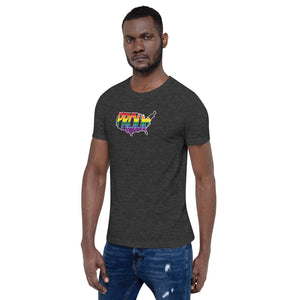 America Proud - Retro Pride - Short-Sleeve Unisex T-Shirt