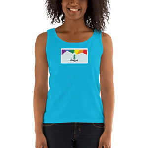 Oregon Pride Rainbow Sunset Ladies' Tank