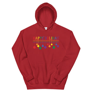 Happy Holigay Full Pride Holiday 2019 - Unisex Hoodie