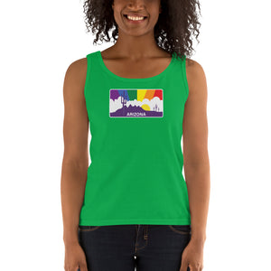 Arizona Pride Rainbow Sunset Ladies' Tank