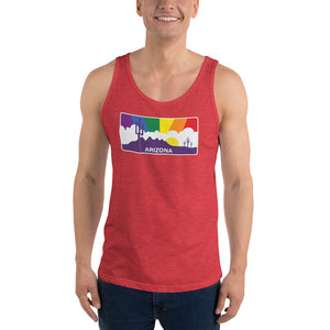 Arizona Pride Rainbow Sunset - Unisex  Tank Top