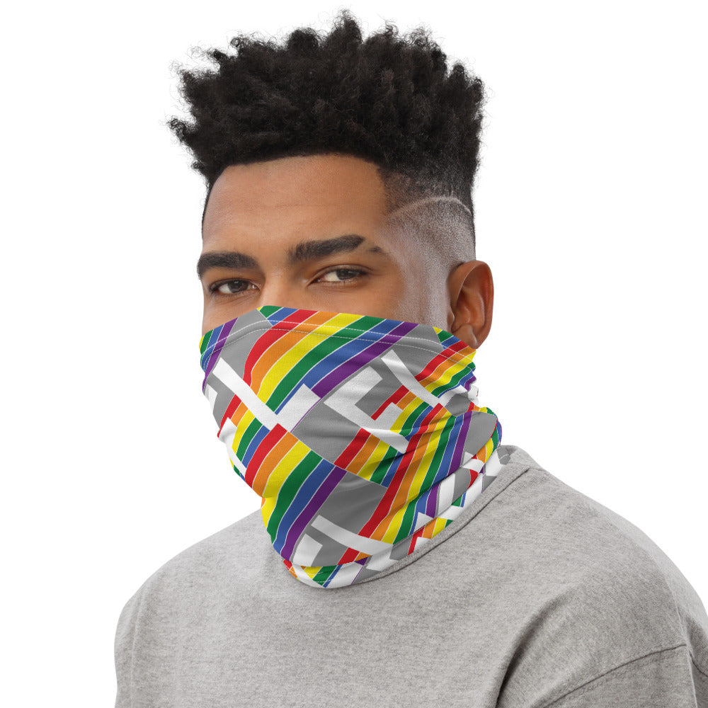 Florida Retro Pride - Brick Pattern - Neck Gaiter