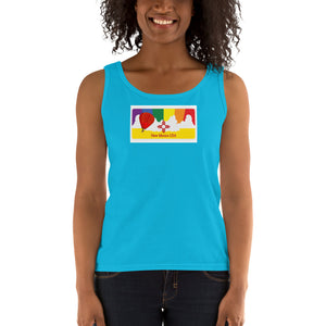 New Mexico Pride Rainbow Sunset Ladies' Tank