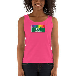 Colorado Pride Rainbow Sunset Ladies' Tank