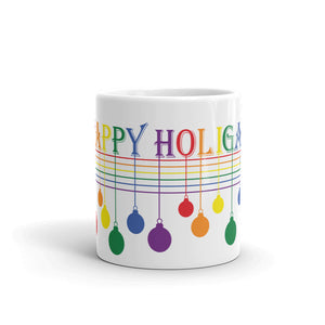 Happy Holigay Full Pride Holiday 2019 Mug