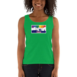 Texas Pride Rainbow Sunset Ladies' Tank