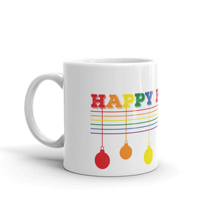 Happy Holigay Solid Holiday 2019 Mug